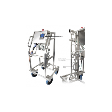 Portable Yeast Pitching/ Cropping Skid (includes PLC)