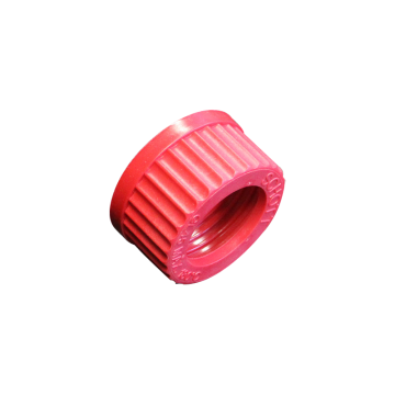 Screw cap GL45 with hole